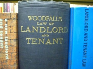 landlord and tenant book